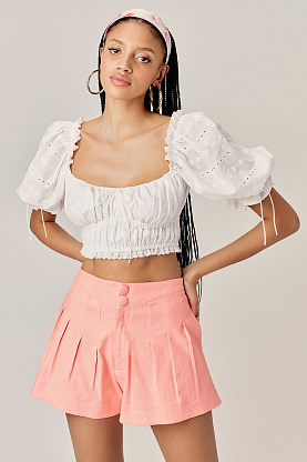 Костюм FOR LOVE & LEMONS Iris Top & Millie Short